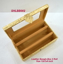 Bangle Box Leather 2 Roll