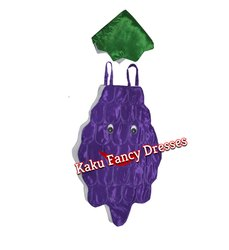Kids Grapes Cutout Costume