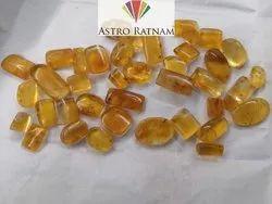 Natural Amber Loose Gemstone