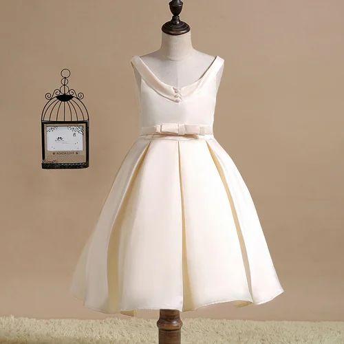6b3966bc8b Classic Champag-Ne Sleeveless Party Dress