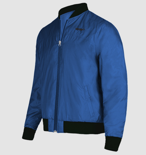 cccee133 Blue Wildcraft Mens Bomber Jacket
