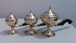Brass Dhuna Set Dhoop