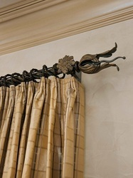 Fancy Curtain Rod Finials