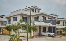 FULL FURNISHED DUPLEX VILLA CONSTRUCTION