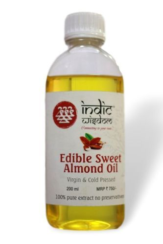 200ml Cold Pressed Sweet Almond Oil
