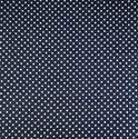 Indigo Blue fast Color Polka Dot Block Print Cotton Fabric