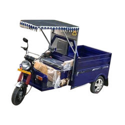 Environment Friendly E - Rickshaw Loader, Loading Capacity: 600 kg