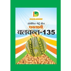 Dhanlakshmi Balwant-135 Wheat Seed, for Agriculture, Packaging Size: 20 Kg