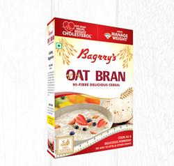 Bagrrys Oat Bran, 200g, Packaging Type: Bag