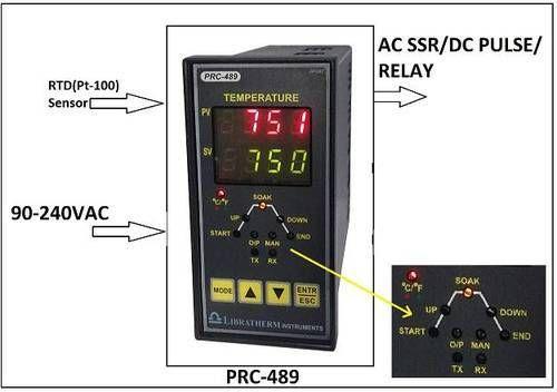 LIBRATHERM Programmable Ramp / Soak PID Temperature Controller PRC-489