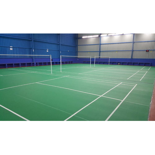 Badminton Court Construction Services, Application/Usage: Commercial