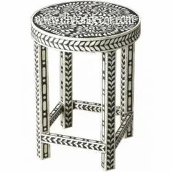 Sauve Bone Inlay Sidetable