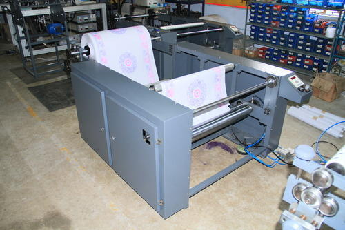 Paper Roll Rewinder Machine, 1 To 4 Ton Per Day