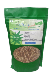 Moong Black Valley's Fresh Pahadi Toor Dal, Pan India, Packaging Size: 500 g