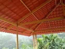 Balcony Roofing Work