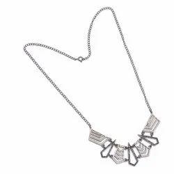 Black Spinel Topaz Necklace