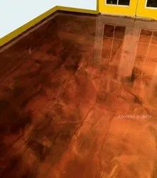 Metallic Floor Coating Service