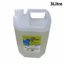 3 Ltr Sodium Hypochlorite