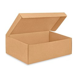 Cardboard Light Weight Corrugated Shoe Box, Box Capacity: 1-5 Kg