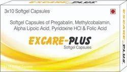 Pregabalin Methylcobalamin Alpha Lipoic Acid Pyridoxine HCI & Folic Acid