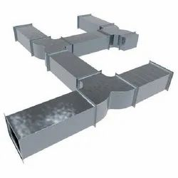 Galvanized Iron Ceiling Mounted Air Duct