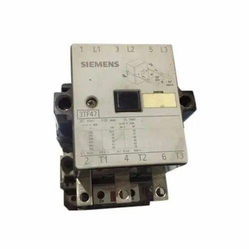 Three Phase Mild Steel Siemens Motor Starter, Voltage: 240v, Model Name/Number: 3tf47