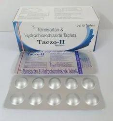 Telmisartan  40mg, Hydrochlorothiazide 12.5mg