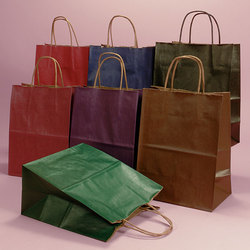 Multicolor Colored Grocery Paper Bags