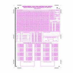 OMR Sheets Printing Service, India