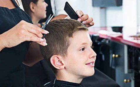 Hair Cut For Kids in Lucknow, Gomti Nagar, by O2 SPA
