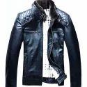 Black Ladies Slim Fit Leather Jacket