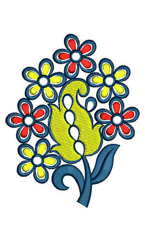 applique embroidery design at rs 250 downloadable designs kadhai