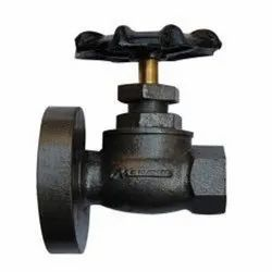 One Side Screwed Wheel Valve Brass Spindle, Size: 15mm - 100mm