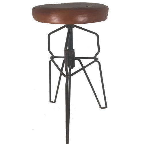 Lalji Handicrafts Multi Color Iron Vintage Bar Chairs At Rs 4500