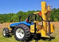 Hydraulic Auger Drive Soil Drilling Rigs