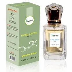 Kazima Floral Crystal Man Spray Perfume, Packaging Size: 50 ML