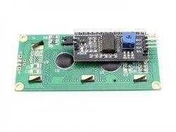 16x2 LCD Display Module with IIC (I2C) Module