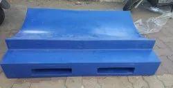 Industrial Plastic Roller Pallet