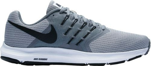 new arrival 26776 8d041 Gray And White Men Nike   s Run Swift Running Shoes, Size  10