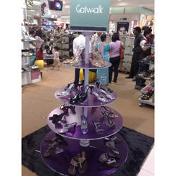 Acrylic Footwear Display Stands
