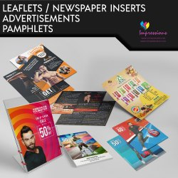 Leaflet and Newspaper Inserts