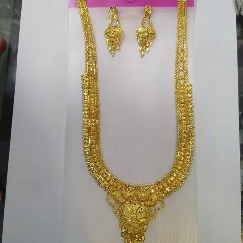 Traditional Brass New Model Gold Necklace For Women Id 21261114462