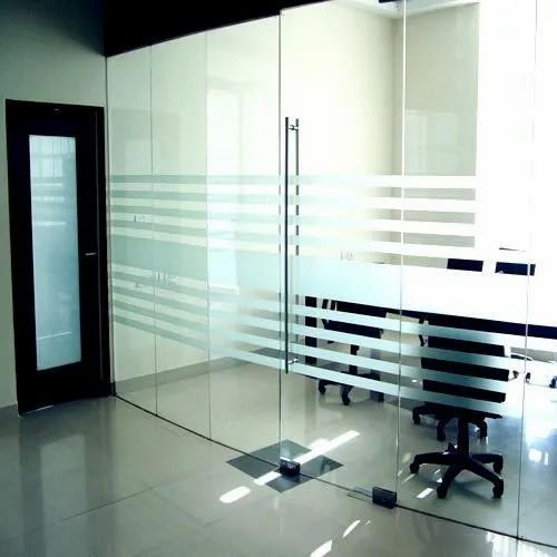 Saint Gobain Ss 12mm Glass Door For Office Rs 13400 Number Srivatsa Intearch Id 20668685673