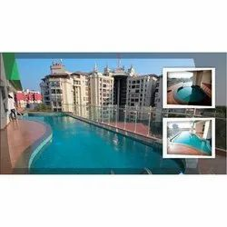 Frp, Pvc Commercial Stylish Swimming Pool, 2 To 10 Feet, Capacity: 1000 L