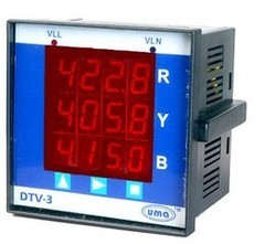 Three Phase Voltmeter (DTV - 3)