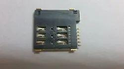 MUP 6 Pin Micro Push Sim Card Connector