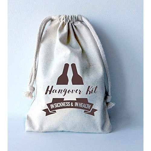 Printed Drawstring Gift Bag