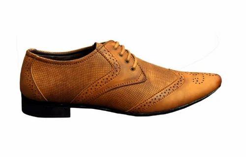 ZeeKap Tan Color Formal Footwear, Size
