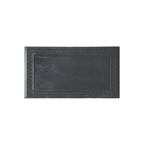 Black Recycled Rubber Door Mats, for Entrance