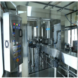 60 BPM Rinsing, Filling and Capping Plant